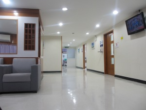 Chiang Mai Ram hospital - a waiting room
