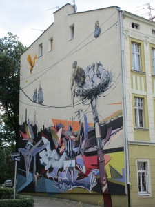 Bydgoszcz mural
