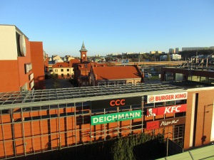 View of Bydgoszcz from the flat above the school