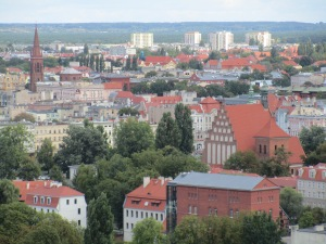 View from Bydgoszcz Water Tower