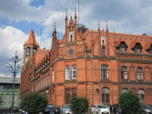 Post office, On the Slonecznik II from Astoria to the fish market