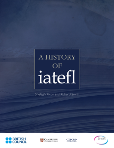A history of IATEFL