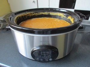 Soup in my new slow cooker