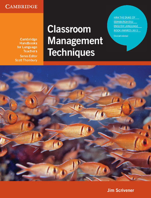 Classroom management techniques cover