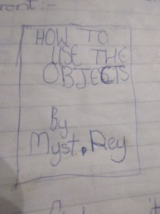 How to use the objects By Myst.Rey