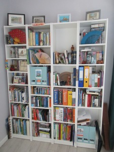 My bookshelves