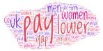 Gender pay gap word cloud based on http://www.bbc.com/news/uk-42580194