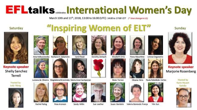 Inspiring Women of ELT banner