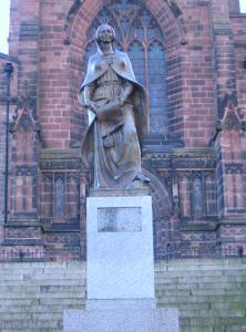 Lady Wulfruna statue