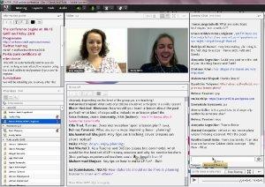 Sandy and Ruth IATEFL web conference screenshot