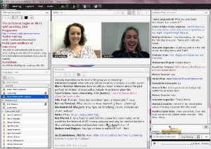 Sandy and Ruth IATEFL web conference screenshot