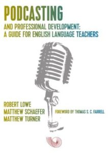 Podcasting and professional development book cover