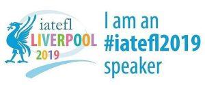 IATEFL 2019 speaker badge